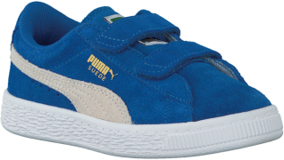 Blauwe Puma Sneakers SUEDE 2 STRAPS