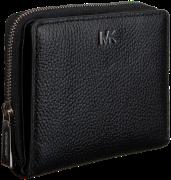 Zwarte Michael Kors Portemonnee Money Pieces Za Snap Wallet