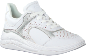 Witte Guess Lage Sneakers Saucey